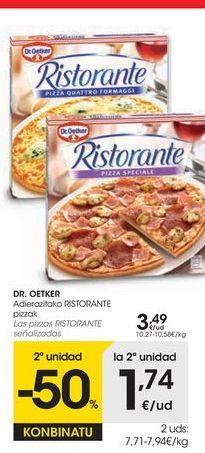 Oferta de Pizza congelada Dr Oetker por 3,49€