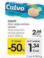 Oferta de Atún claro Calvo por 2,68€