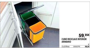 Oferta de Cubo de reciclaje por 59,35€