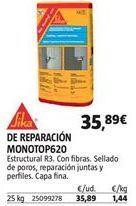 Oferta de Mortero de reparación sika por 35,89€