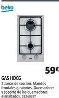 Oferta de Cocina de gas Beko por 59€