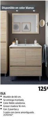 Oferta de Muebles de baño por 125€