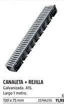 Oferta de Canaleta por 11,95€