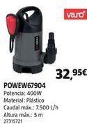 Oferta de Bomba de agua por 32,95€