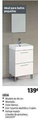 Oferta de Muebles de baño por 139€