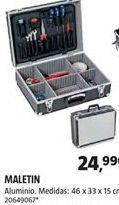 Oferta de Maletín de herramientas por 24,99€