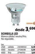 Oferta de Bombilla led por 3,69€