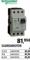 Oferta de Mecanismos eléctricos Schneider por 81,95€