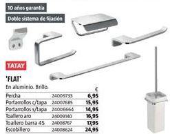 Oferta de Accesorios para baño Tatay por 6,95€