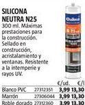 Oferta de Silicona Quilosa por 3,99€