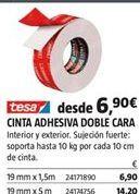Oferta de Cinta adhesiva tesa por 6,9€