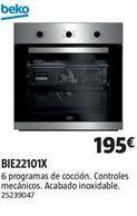 Oferta de Horno multifunción Beko por 195€