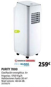 Oferta de Aire acondicionado portátil por 259€