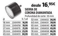 Oferta de Sierra de corona por 16,95€