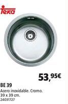 Oferta de Fregadero Teka por 53,95€
