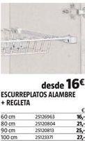 Oferta de Escurreplatos por 16€