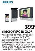 Oferta de Videoportero Philips por 399€