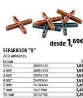 Oferta de Separadores por 1,69€