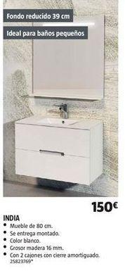 Oferta de Muebles de baño por 150€