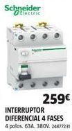 Oferta de Mecanismos eléctricos Schneider por 259€