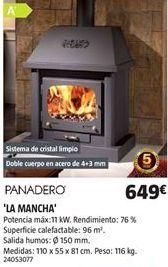 Oferta de Estufa de leña por 649€