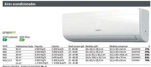 Oferta de Aire acondicionado por 279€