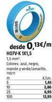 Oferta de Cables por 1,45€