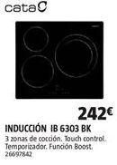 Oferta de Placa de inducción Cata por 242€