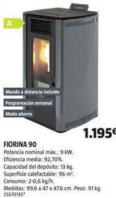 Oferta de Estufa de pellet por 1195€