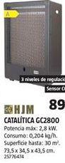 Oferta de Estufa catalítica HJM por 89€