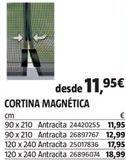 Oferta de Cortinas por 11,95€
