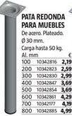 Oferta de Patas por 2,19€