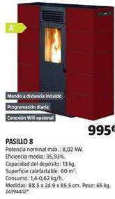Oferta de Estufa de pellet por 995€
