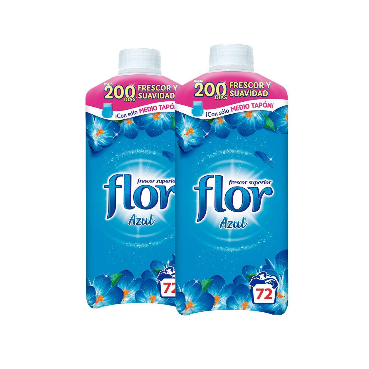Oferta de FLOR Suavitzant concentrat Azul, 70 dosis por 3,99€