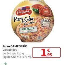 Oferta de Pizza Campofrío por 1,95€