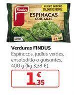 Oferta de Verduras Findus por 1,35€