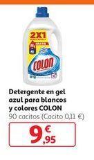 Oferta de Detergente en gel azul para blancos y colores COLON por 9,95€