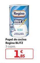 Oferta de Papel de cocina Regina Blitz por 1,85€