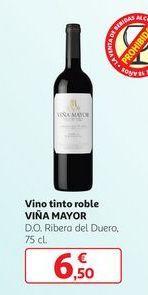 Oferta de Vino tinto roble Viña Mayor por 6,5€