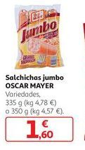 Oferta de Salchichas Jumbo Oscar Mayer por 1,6€