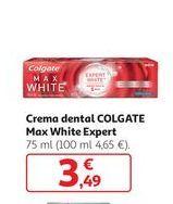 Oferta de Crema dental Colgate Max White Expert por 3,49€