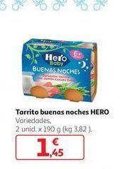 Oferta de Tarrito buenas noches Hero por 1,45€