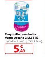 Oferta de Maquinilla desechable Venus Oceana Gillette por 5,49€