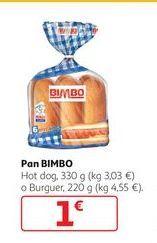 Oferta de Pan Bimbo por 1€