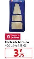 Oferta de Filetes de bacalao  por 3,75€