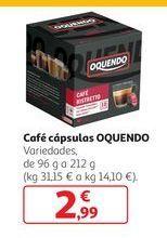 Oferta de Café cápsulas Oquendo por 2,99€