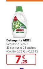 Oferta de Detergente ARIEL por 7,25€