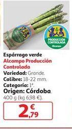 Oferta de Espárrago verde por 2,79€