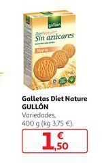 Oferta de Galletas diet Nature Gullón por 1,5€