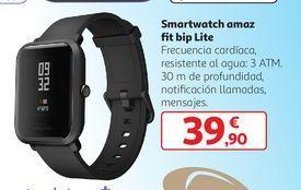 Oferta de Smartwatch amaz fit bip Lite por 39,9€